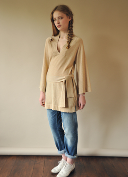 A_Line Split Collar Tunic