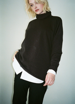 Oversized Roll Neck
