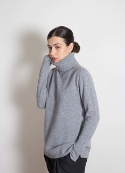 Plain Roll Neck